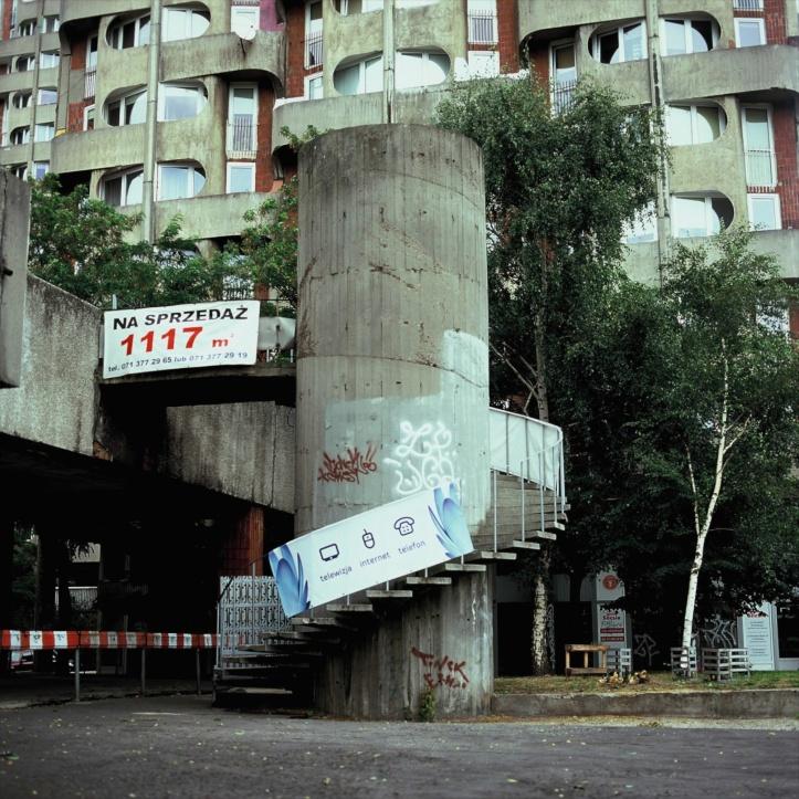 Plac Grunwaldski, Wroclaw, Poland Bronica SQ-A, Fujifilm Velvia 100