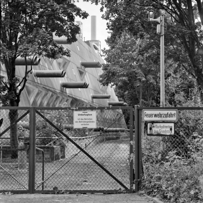 Forschungseinrichtungen - Bronica SQ-A, Kodak Tx400