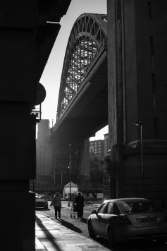 Early morning Tyne Bridge